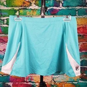Fila Tennis Skirt Workout Athletic Skorts ladies L